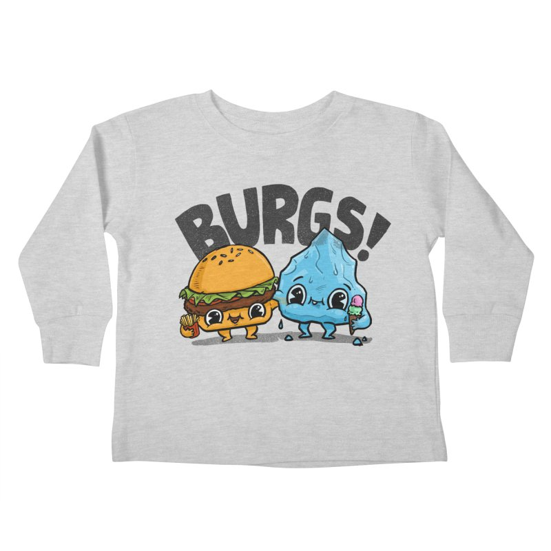 Burgs Bros! Kids Toddler Longsleeve T-Shirt by Brian Cook