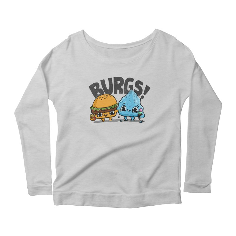 Burgs Bros! Women's Longsleeve Scoopneck  by Brian Cook