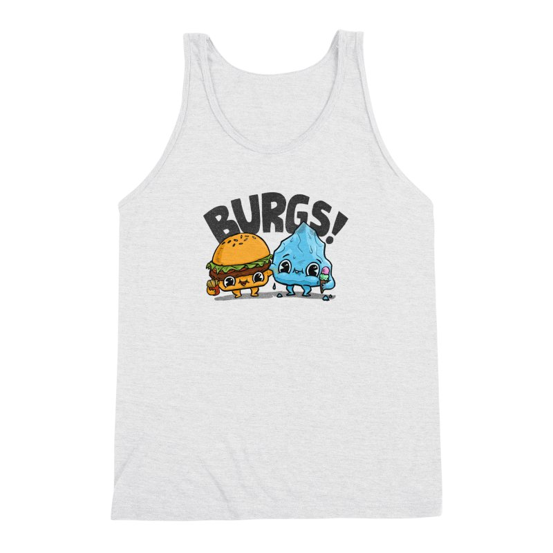 Burgs Bros! Men's Triblend Tank by Brian Cook