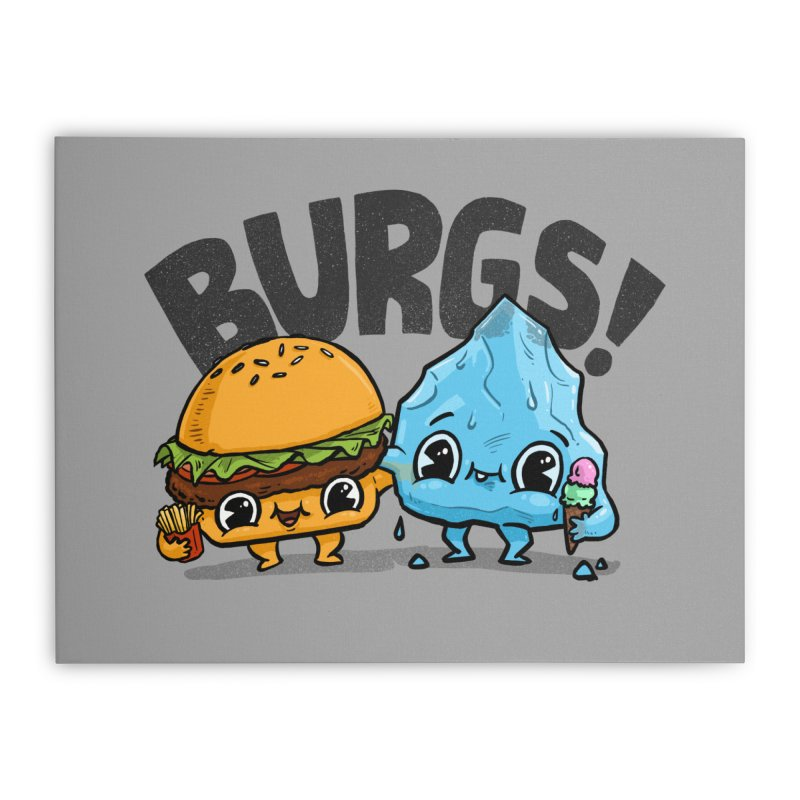 Burgs Bros! Home Stretched Canvas by Brian Cook