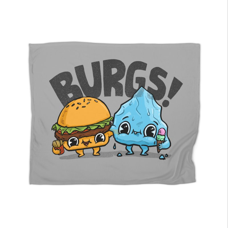 Burgs Bros! Home Blanket by Brian Cook