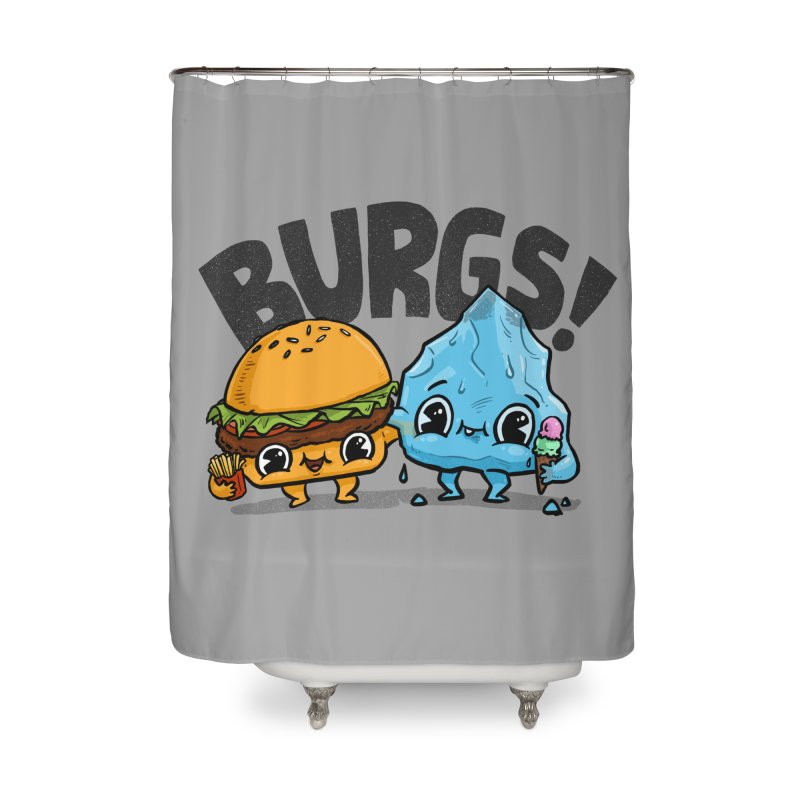 Burgs Bros! Home Shower Curtain by Brian Cook