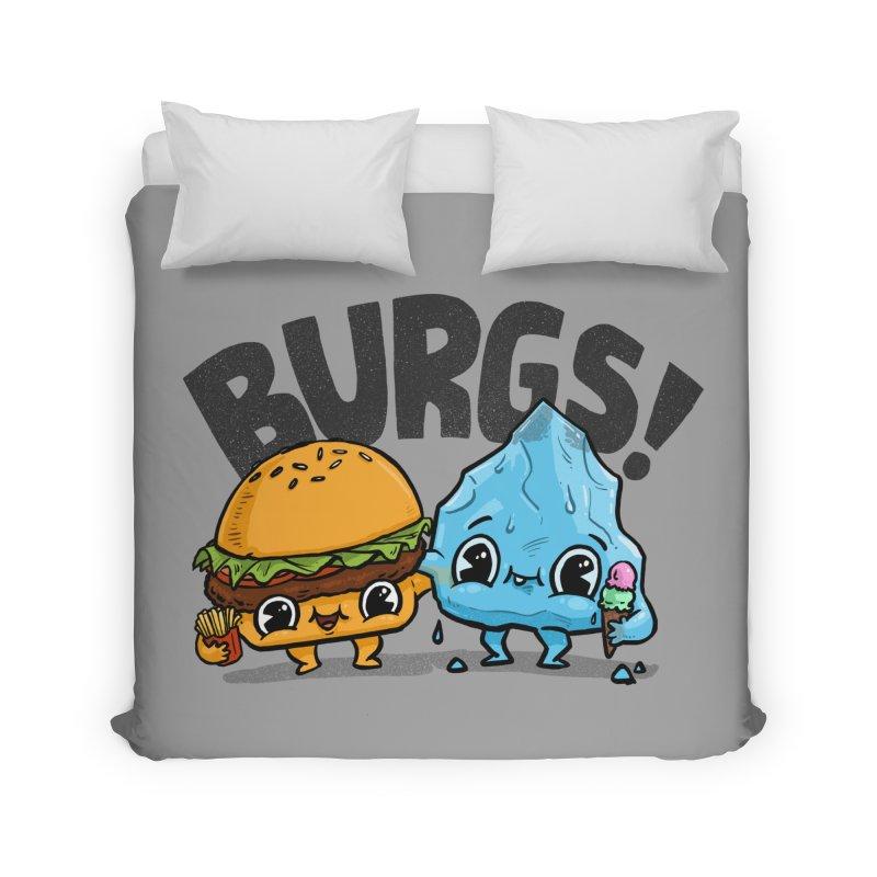 Burgs Bros! Home Duvet by Brian Cook