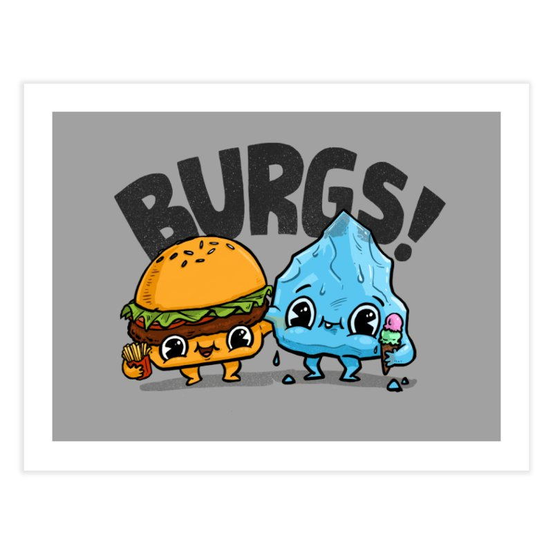 Burgs Bros! Home Bath Mat by Brian Cook