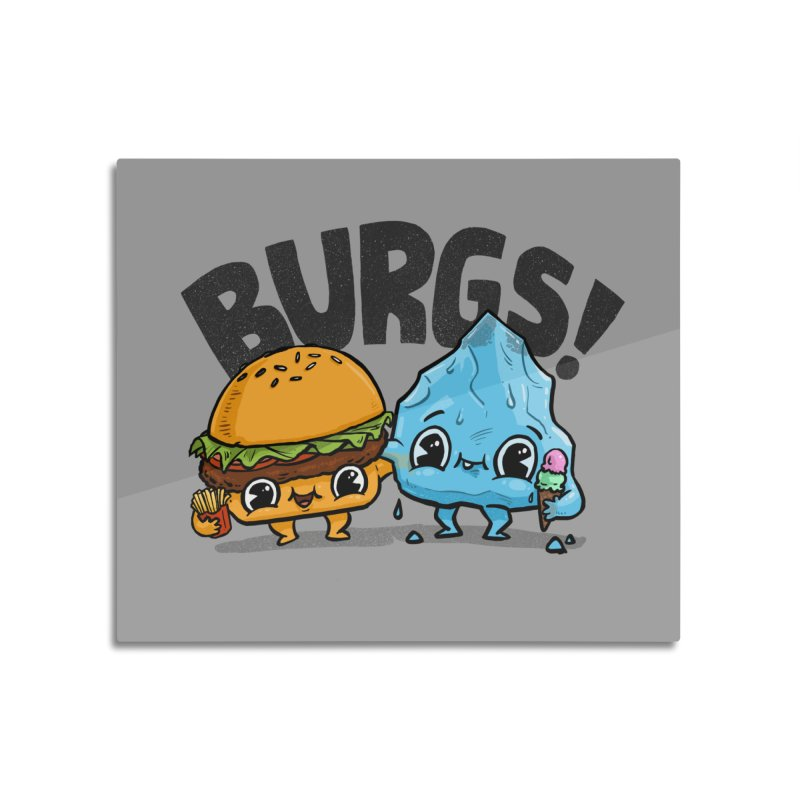 Burgs Bros! Home Mounted Acrylic Print by Brian Cook