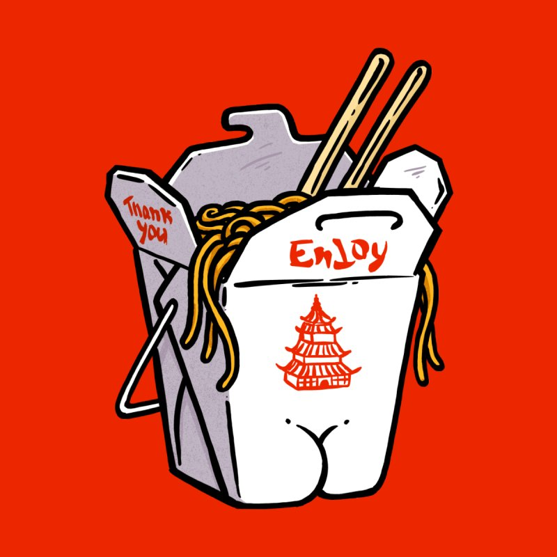 Chinese Take-Out Butt by Brian Cook