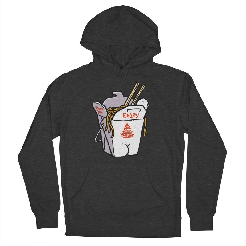 Chinese Take-Out Butt Women's Pullover Hoody by Brian Cook