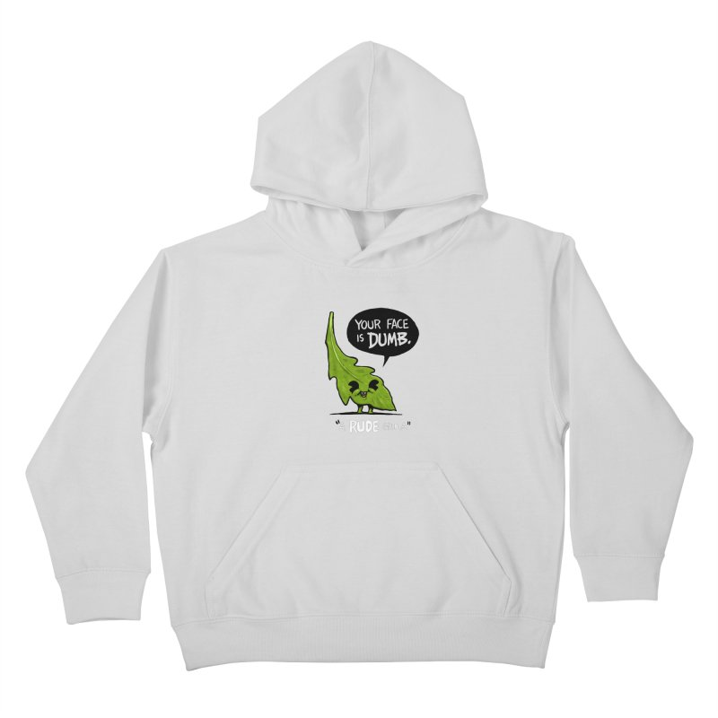 a-RUDE-gula Kids Pullover Hoody by Brian Cook
