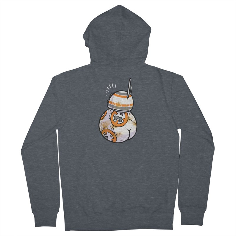 BBooty-8 Women's French Terry Zip-Up Hoody by Brian Cook
