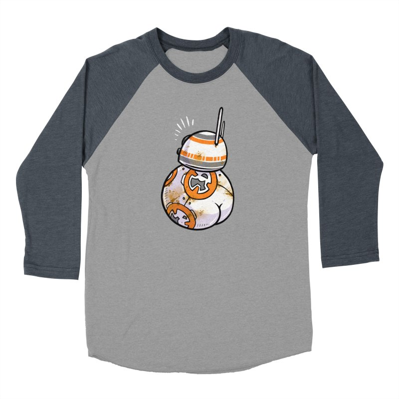 BBooty-8 Women's Baseball Triblend Longsleeve T-Shirt by Brian Cook