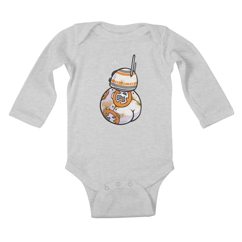 BBooty-8 Kids Baby Longsleeve Bodysuit by Brian Cook
