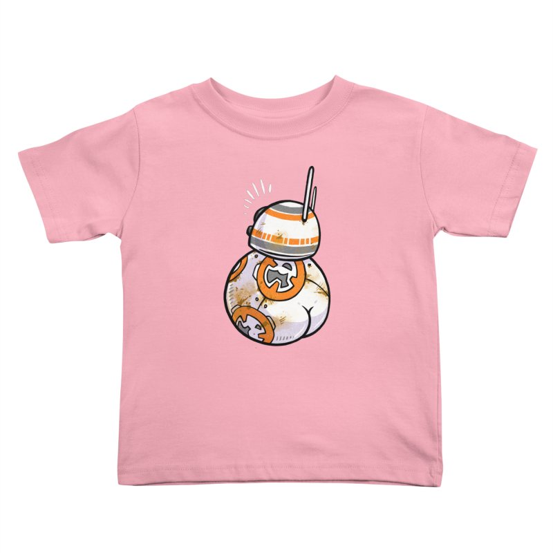 BBooty-8 Kids Toddler T-Shirt by Brian Cook
