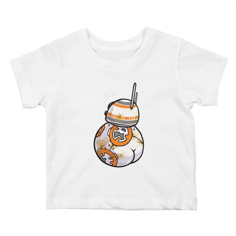 BBooty-8 Kids Baby T-Shirt by Brian Cook
