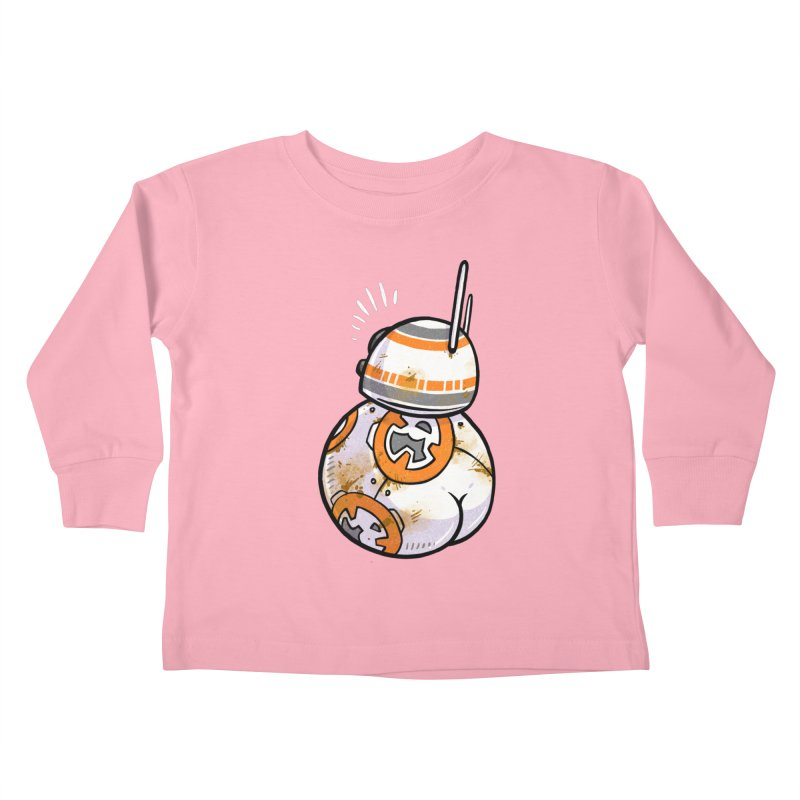 BBooty-8 Kids Toddler Longsleeve T-Shirt by Brian Cook