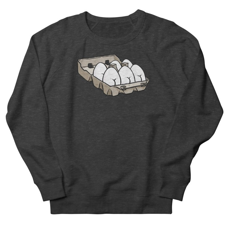 Egg Butt (Cracked Eggs) Men's French Terry Sweatshirt by Brian Cook