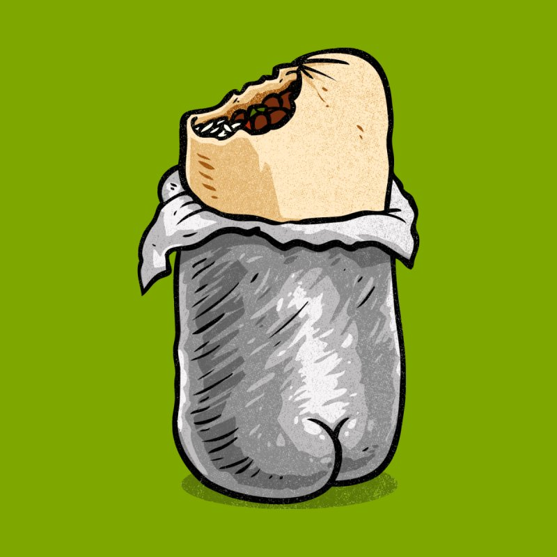 Burrito Butt (Buttrito) by Brian Cook