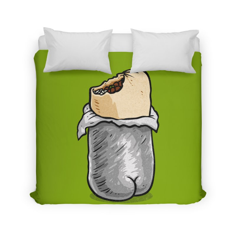 Burrito Butt (Buttrito) Home Duvet by Brian Cook