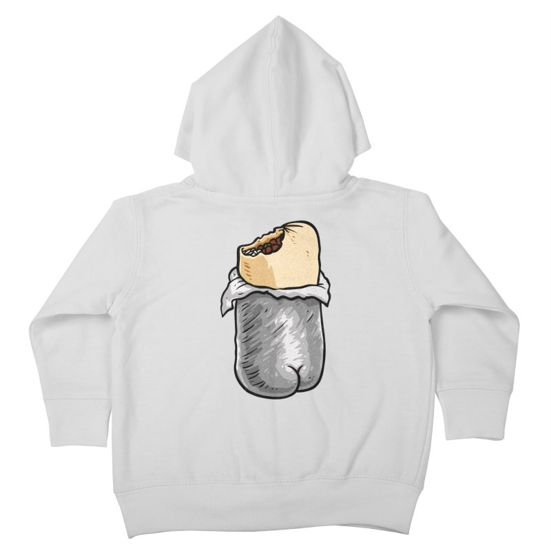 Burrito Butt (Buttrito) Kids Toddler Zip-Up Hoody by Brian Cook