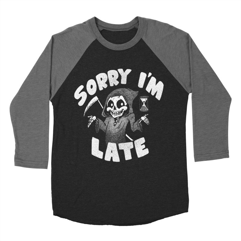 Sorry I'm Late Women's Baseball Triblend Longsleeve T-Shirt by Brian Cook