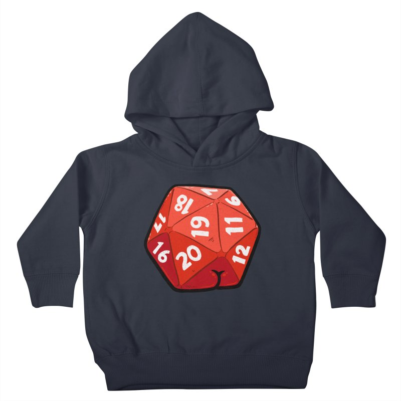 D20 Butt Kids Toddler Pullover Hoody by Brian Cook