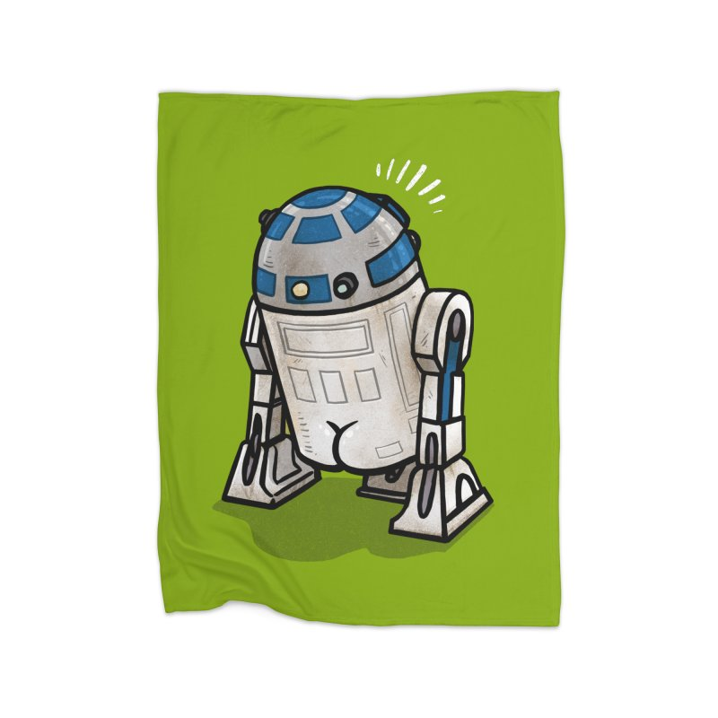 R2 Butt Home Blanket by Brian Cook
