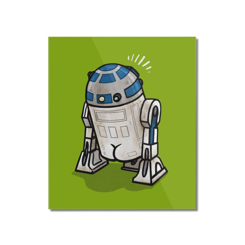 R2 Butt Home Mounted Acrylic Print by Brian Cook