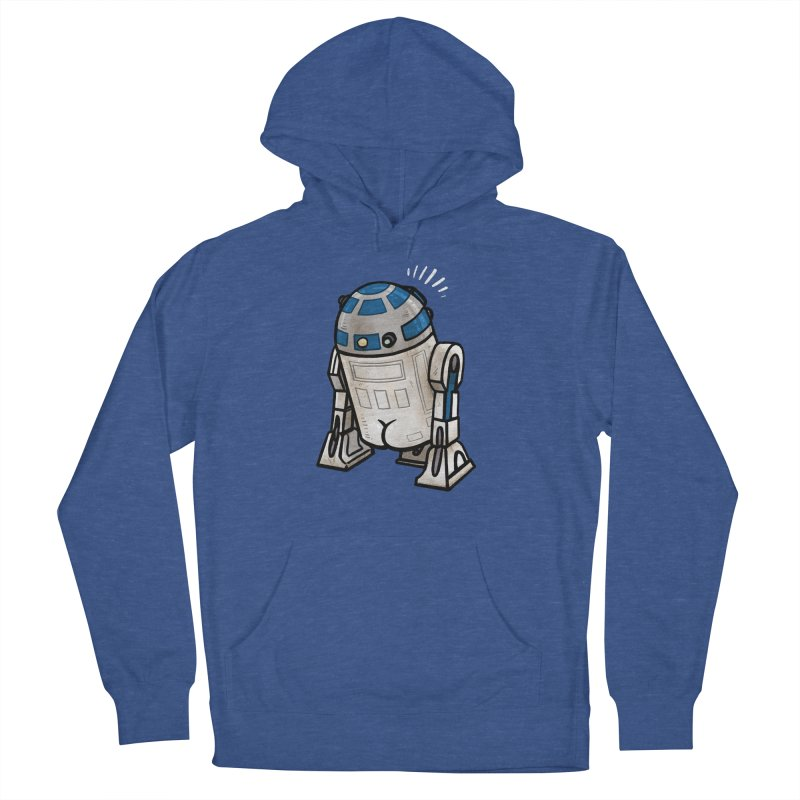 R2 Butt Women's French Terry Pullover Hoody by Brian Cook