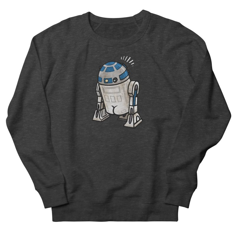 R2 Butt Women's French Terry Sweatshirt by Brian Cook