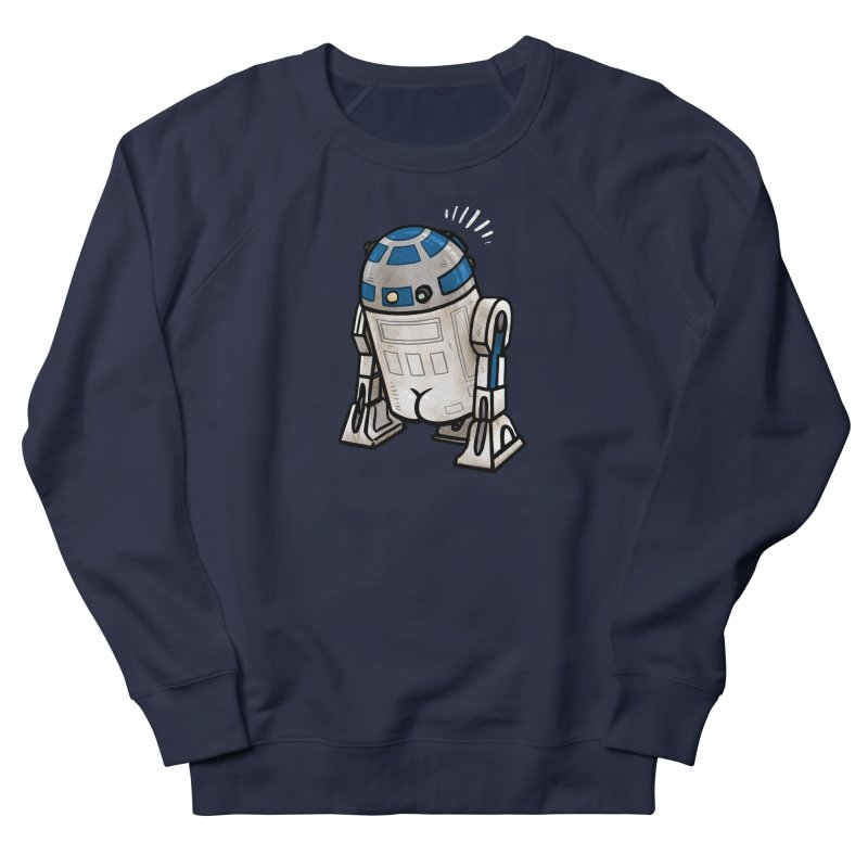 R2 Butt Men's French Terry Sweatshirt by Brian Cook