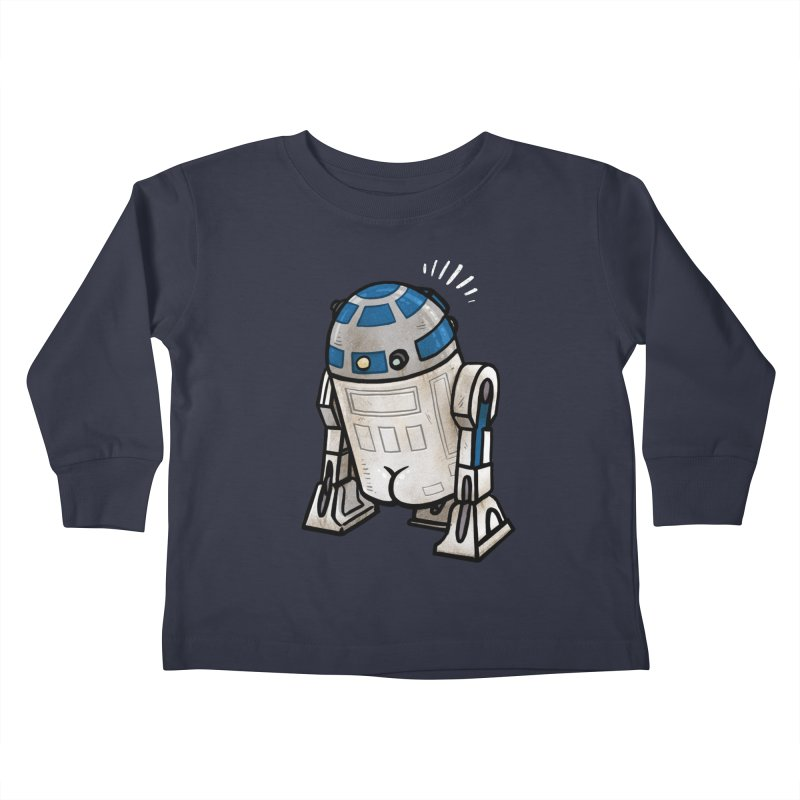 R2 Butt Kids Toddler Longsleeve T-Shirt by Brian Cook