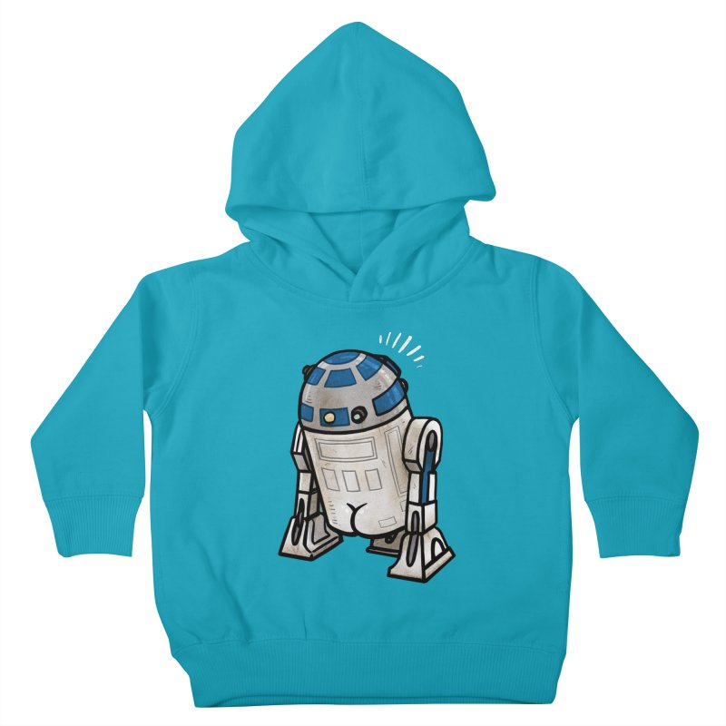 R2 Butt Kids Toddler Pullover Hoody by Brian Cook
