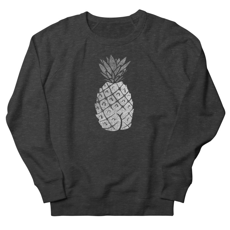 Pineapple Butt (Mono Color Edition) Women's French Terry Sweatshirt by Brian Cook
