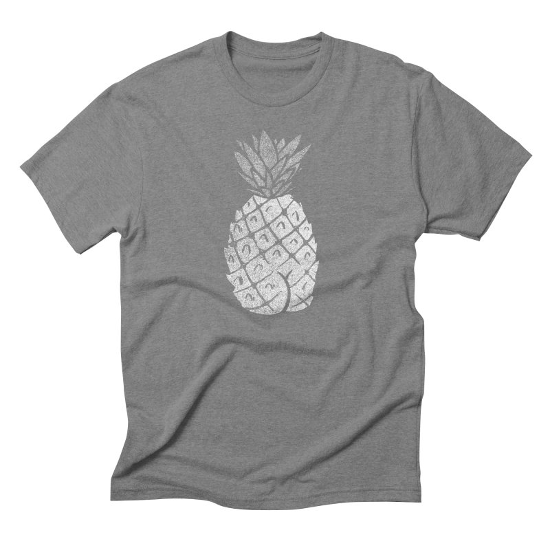 Pineapple Butt (Mono Color Edition) Men's Triblend T-Shirt by Brian Cook
