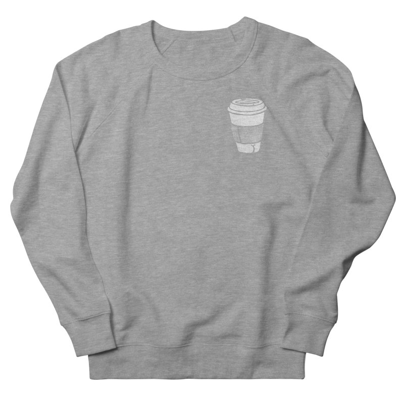 Coffee Butt (Mono Pocket Edition) Men's French Terry Sweatshirt by Brian Cook
