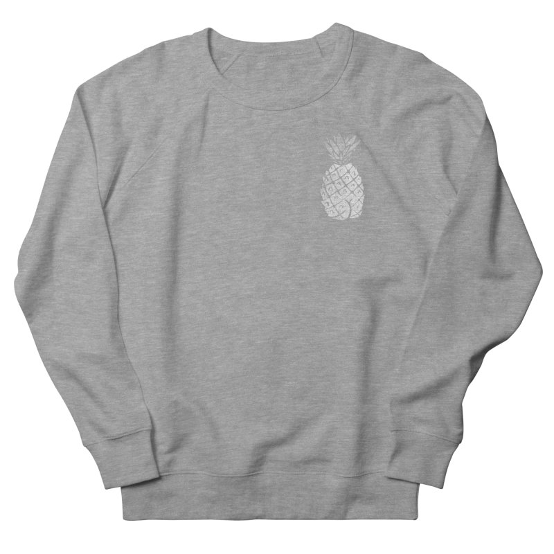 Pineapple Butt (Mono Pocket Edition) Men's French Terry Sweatshirt by Brian Cook
