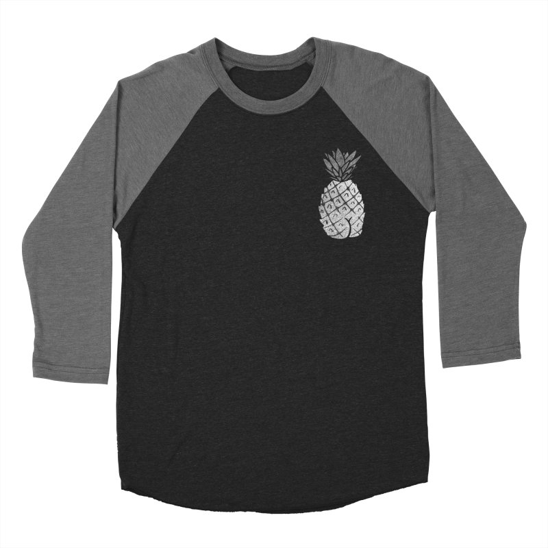 Pineapple Butt (Mono Pocket Edition) Women's Baseball Triblend Longsleeve T-Shirt by Brian Cook