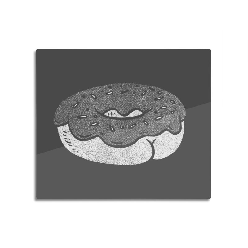 Donut Butt (Mono Color Edition) Home Mounted Acrylic Print by Brian Cook