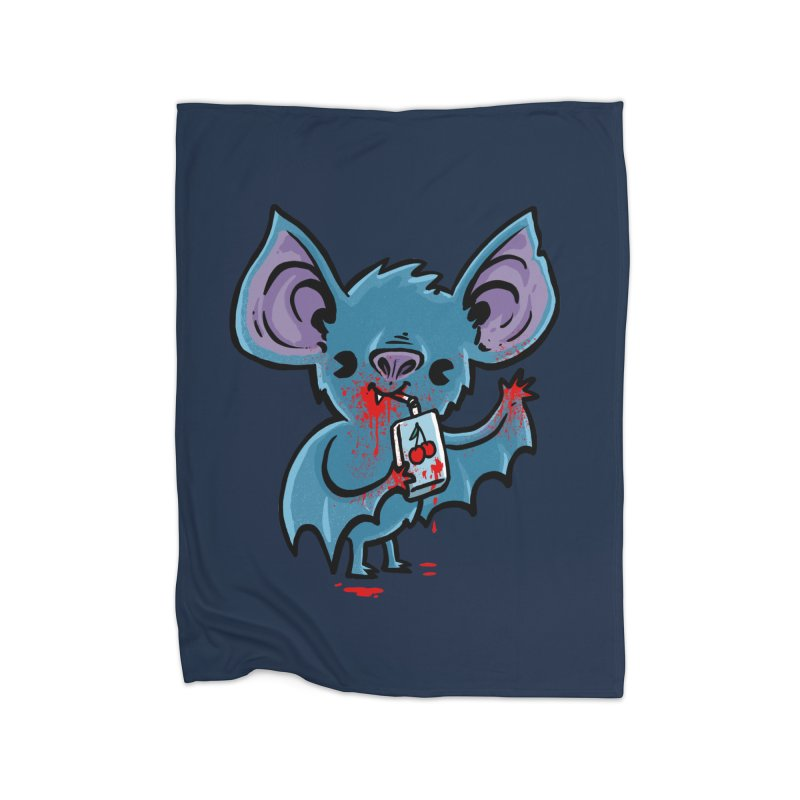 Fruit Bat Home Blanket by Brian Cook