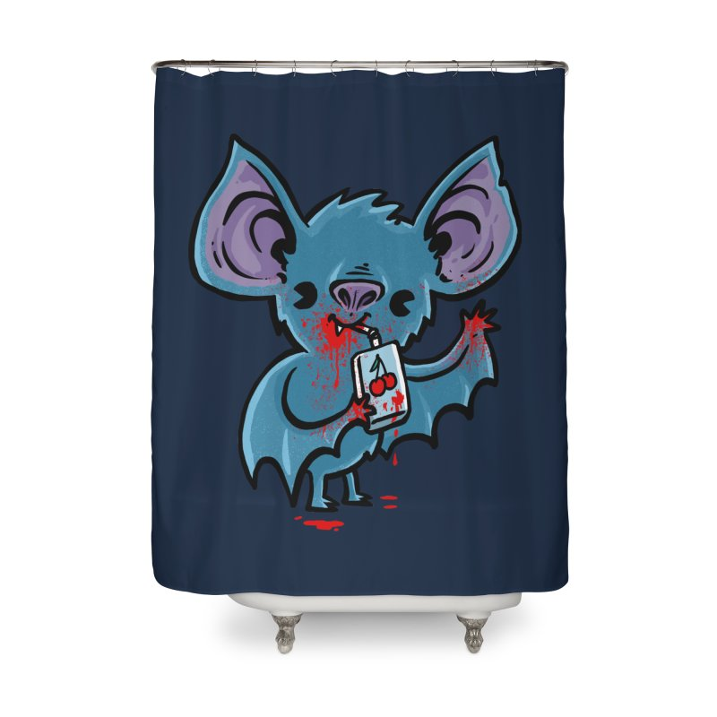 Fruit Bat Home Shower Curtain by Brian Cook