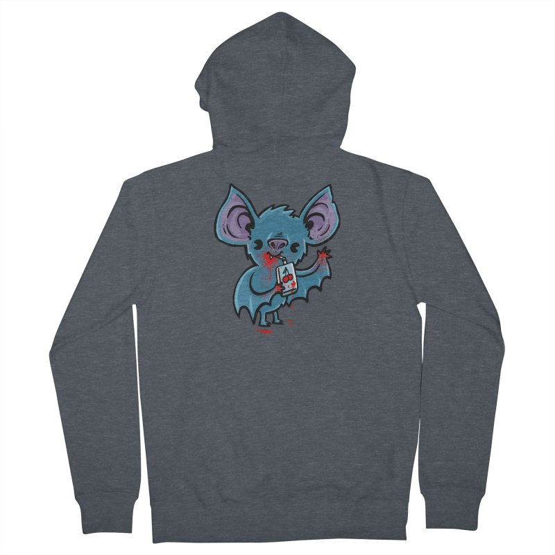 Fruit Bat Women's French Terry Zip-Up Hoody by Brian Cook