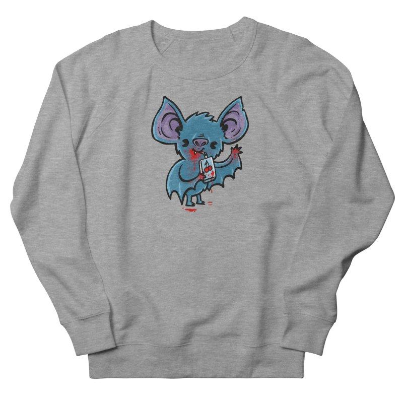 Fruit Bat Women's French Terry Sweatshirt by Brian Cook