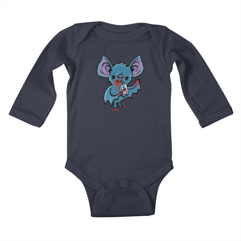 Fruit Bat Kids Baby Longsleeve Bodysuit by Brian Cook