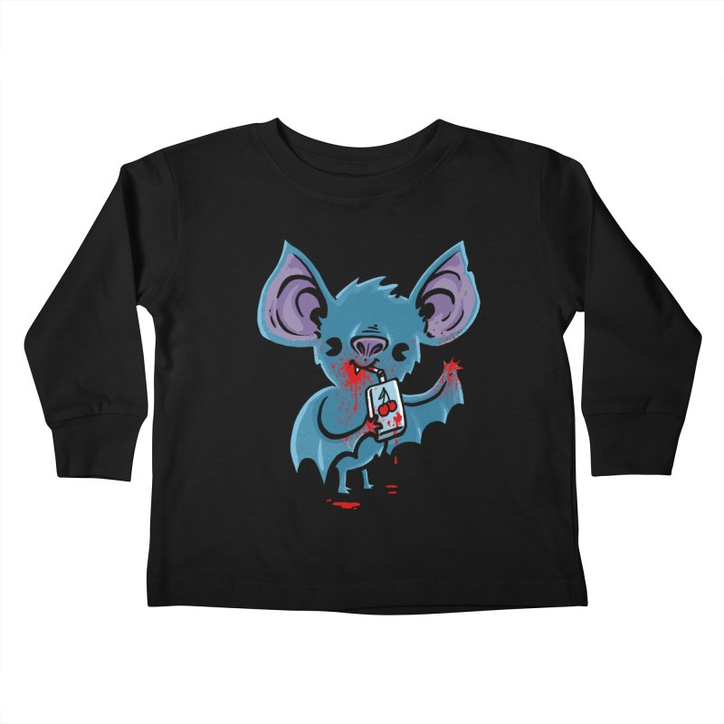 Fruit Bat Kids Toddler Longsleeve T-Shirt by Brian Cook