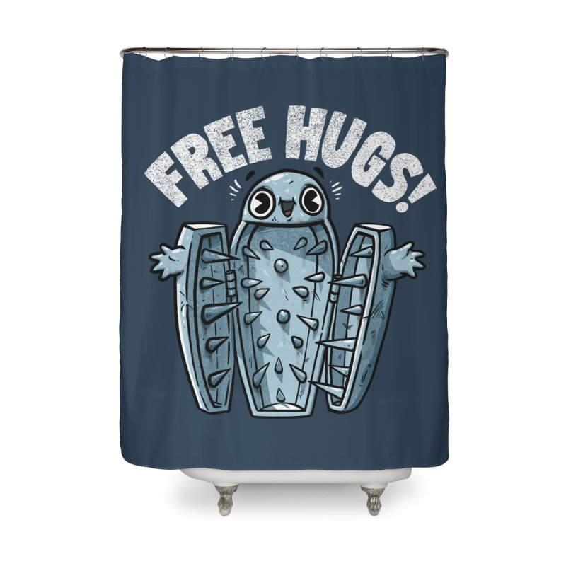Free Hugs! Home Shower Curtain by Brian Cook