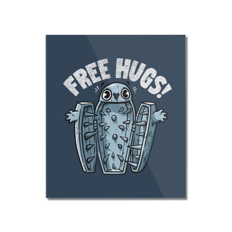 Free Hugs! Home Mounted Acrylic Print by Brian Cook