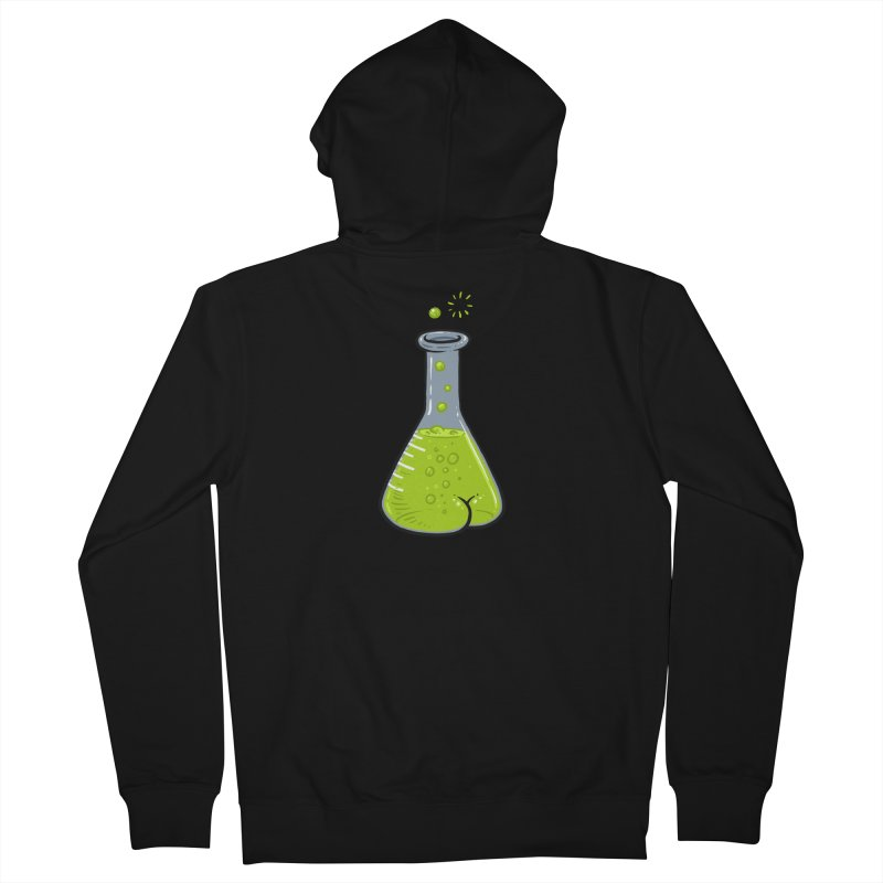 Flask Butt Women's French Terry Zip-Up Hoody by Brian Cook