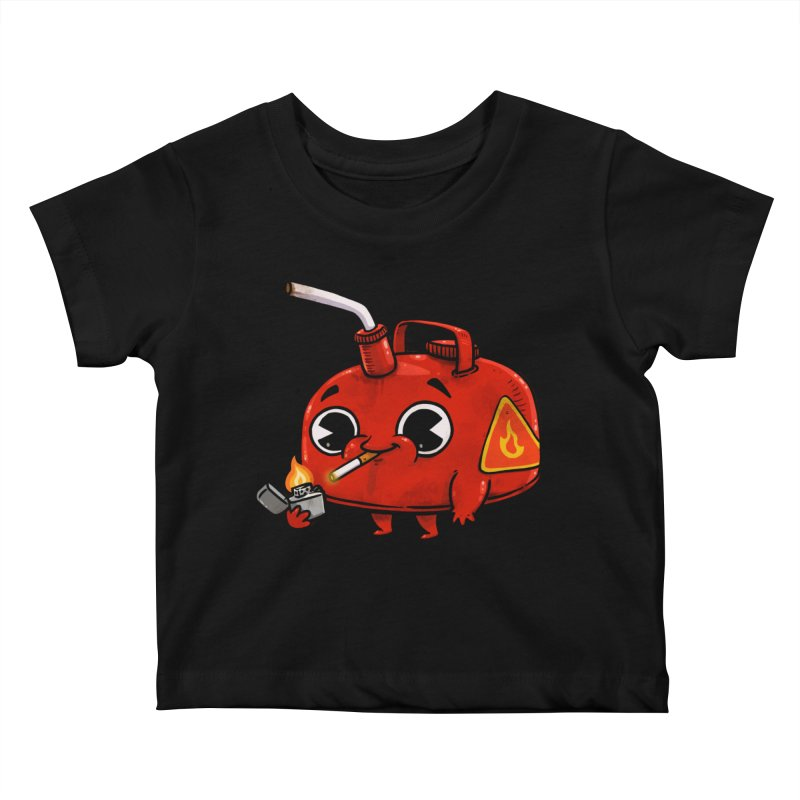 Bad Gas Kids Baby T-Shirt by Brian Cook