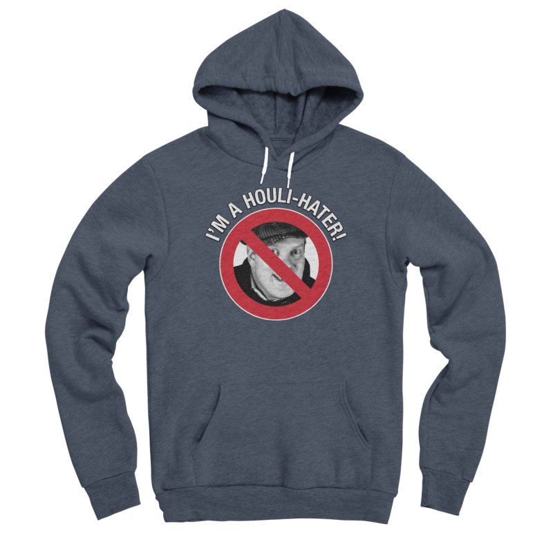 Houli Hater Men's Sponge Fleece Pullover Hoody by Brian Harms