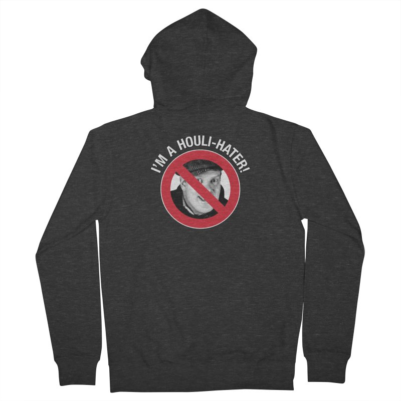 Houli Hater Women's French Terry Zip-Up Hoody by Brian Harms