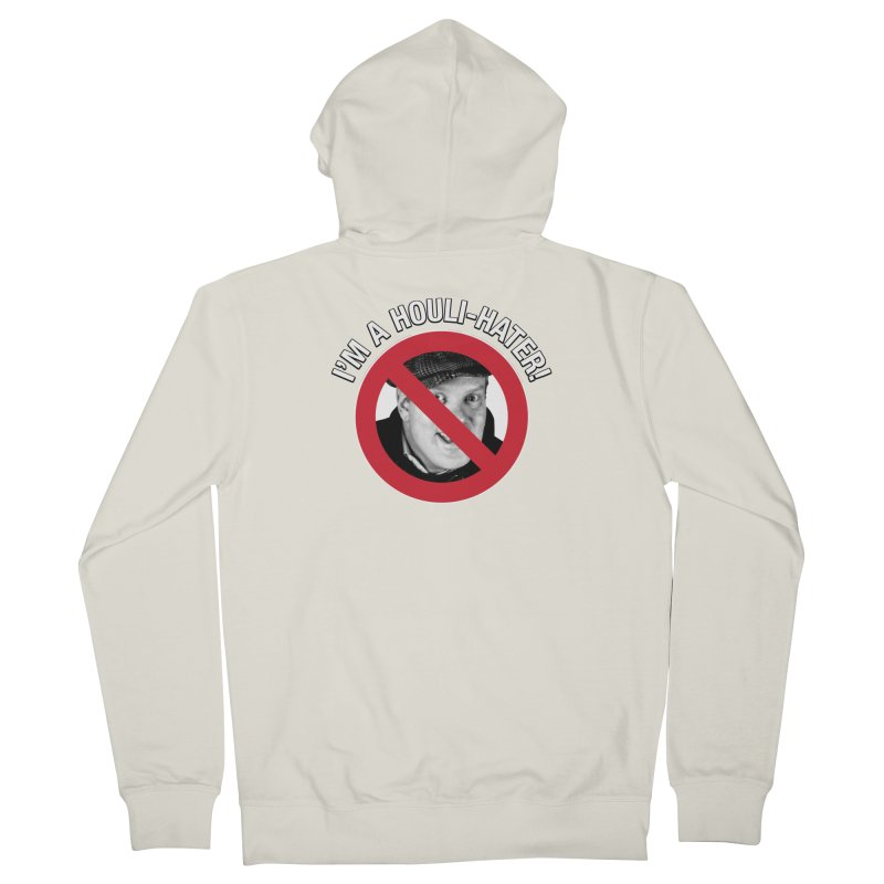 Houli Hater Men's French Terry Zip-Up Hoody by Brian Harms